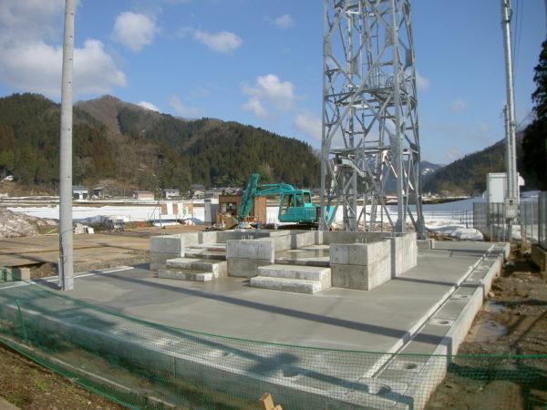 福井市デジタル防災行政無線固定系移動系設備工事