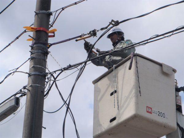 電力通信線